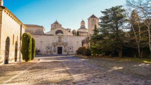 Cistercian Monastery of Santa Maria de Poblet, Catalonia, Spain.