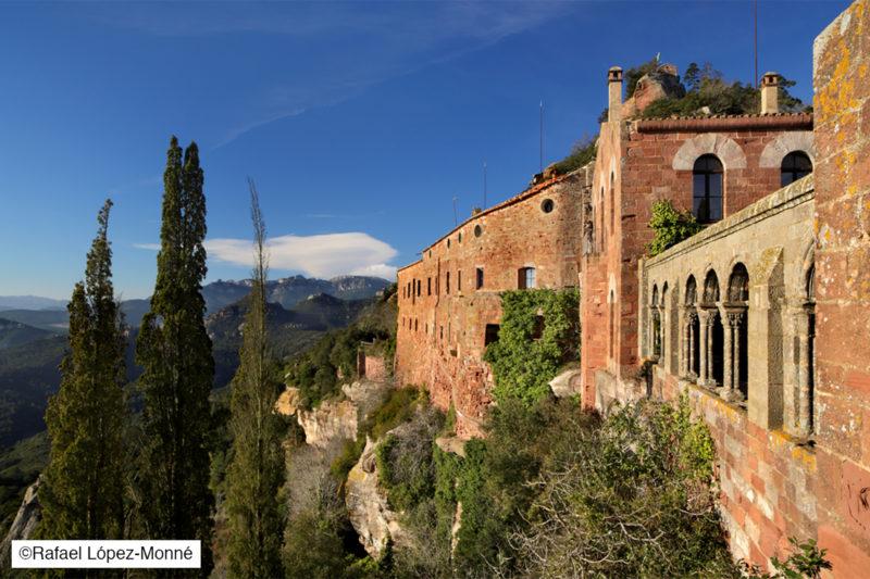 El monestir d'Escornalbou. Riudecanyes, Baix Camp, Tarragona