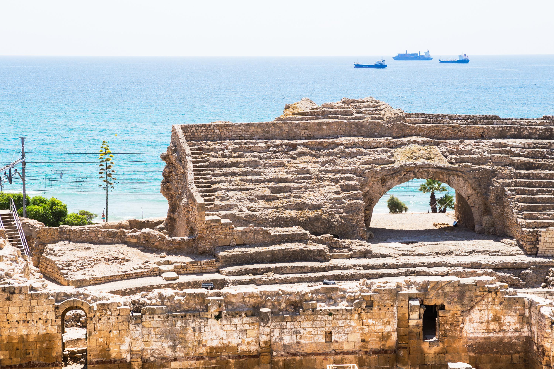 The Historical amphiteather of Tarragona.