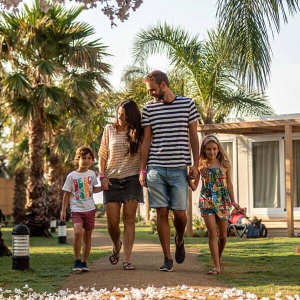 família camping Alannia Els Prats