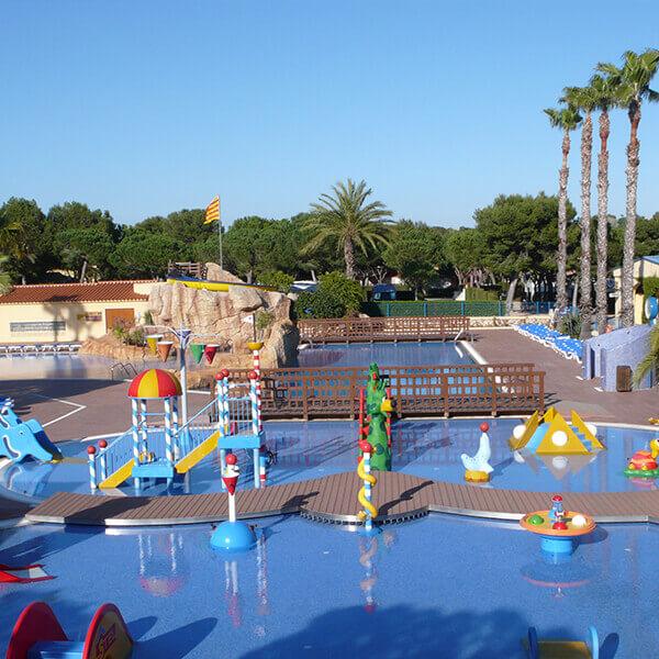 piscina para niños camping Stel | campings tarraogna