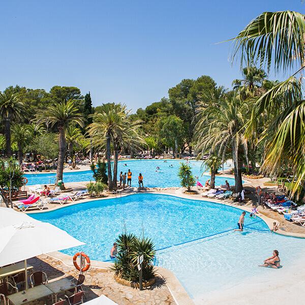 piscinas camping La Torre del Sol