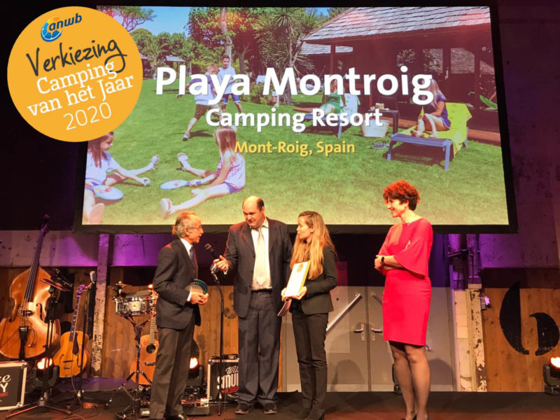 mejor camping europa playa montroig | campings tarragona