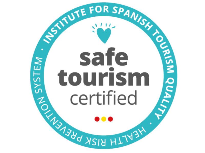 sello safe tourism | vacaciones seguras campings tarragona