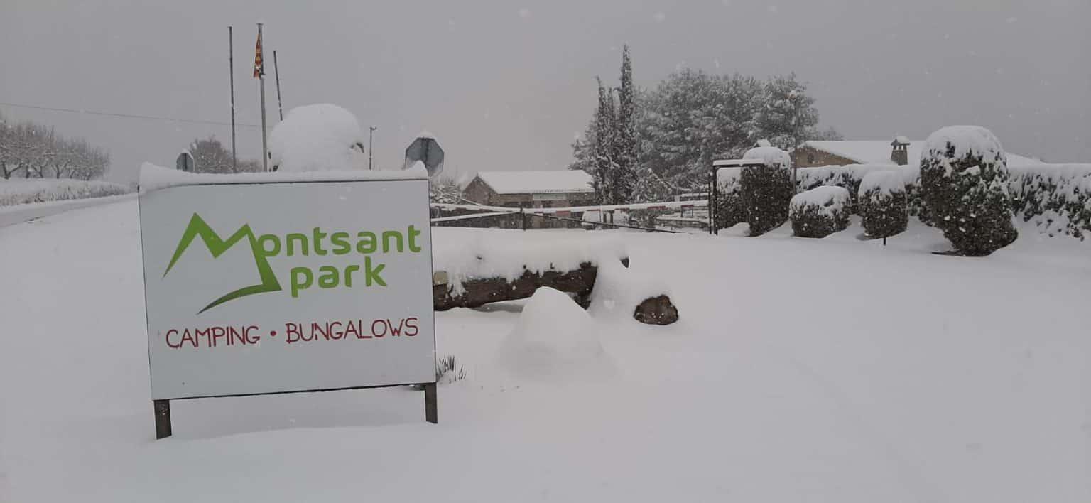 Camping Montsant Park, Enero 2021