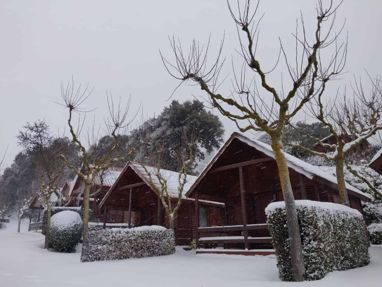 Camping Serra de Prades, Enero 2021