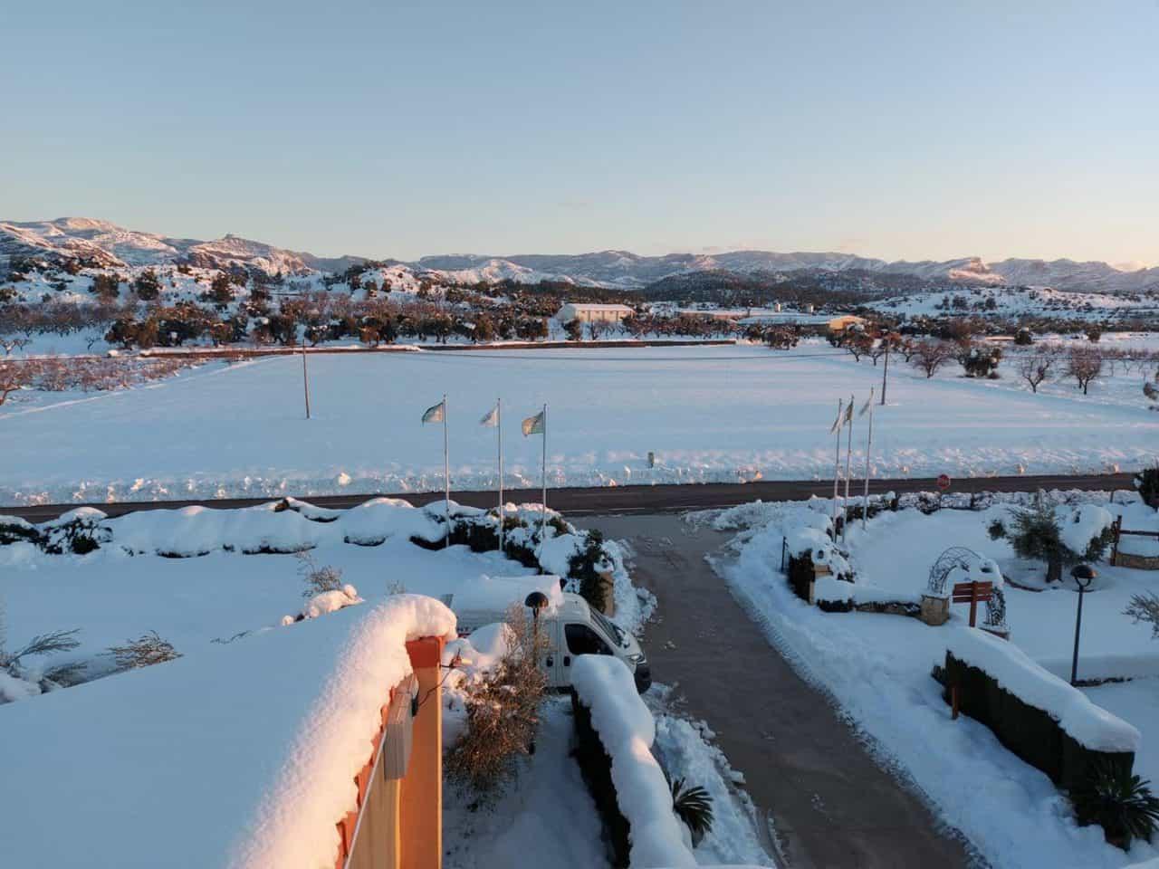 Camping Els Ports, Enero 2021